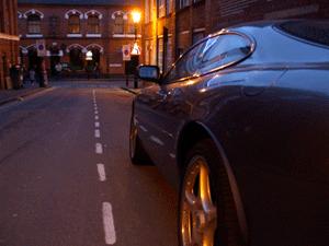 4am Project - Jaguar XK on James Street