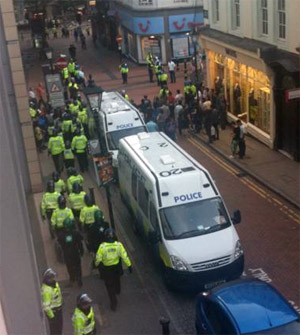 Birmingham protests August 2009