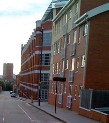 Some of the Jewellery Quarter apartments