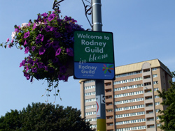 Rodney Close, Ladywood, in Bloom
