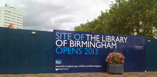 Site of the new Library of Birmingham