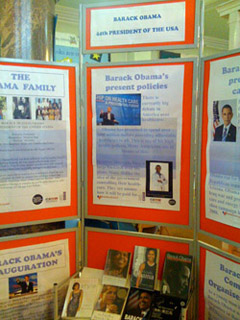 Spring Hill Library - Barack Obama - Black History Month